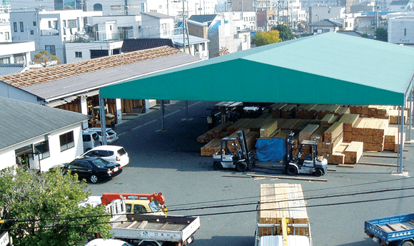小郡木材市場